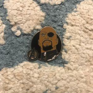 Disney Licensed Avengers Nick Fury Enamel Pin